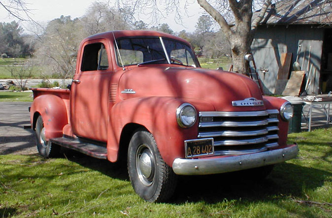 My Uncle's 1953 Chevy Pickup (125KB)